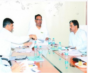 Hon.Minister Visit & Review Meeting 25.10.2017 2